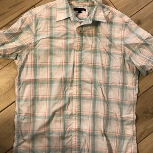 Banana republic factory short sleeve button down